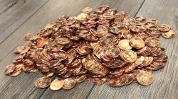 Volksmünzen* Set  für Orgas & Gruppen - Erst die Arbeit... 500 Stück + Met (optional) - Achtung kleine Version!