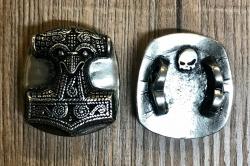 Schuh-Pin - Schonenhammer/ Thors Hammer - Shoe-Pin - Zinn
