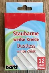Tafelzubehör - Kreide weiß (12er)
