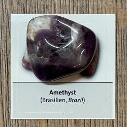 Edelstein - Trommelstein - Amethyst - ca. 25-35mm