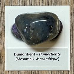 Edelstein - Trommelstein - Dumortierit - ca. 25-35mm