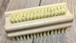 Holz Bürste - Nagelbürste/ Handwaschbürste aus Naturborsten