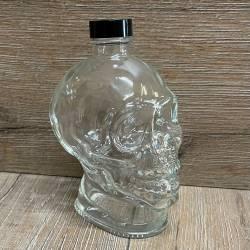 Flasche - Motiv - Totenkopf - 350ml - mit Verschluss