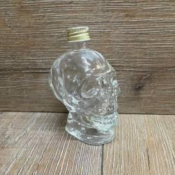 Flasche - Motiv - Totenkopf - 50ml - mit Verschluss