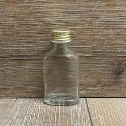 Flasche - Taschenflasche - 20ml - mit Schraubverschluss