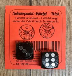 Würfel - Trickwürfel/ Schwerpunkt- Würfel- Set