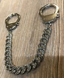 Armband - Handschellen Chained & Locked 21cm - Edelstahl poliert