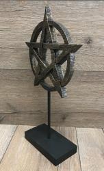 Statue - Pentagramm - 36cm