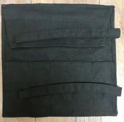Tasche - Rolltasche für Arzt- & Heilerbesteck - schwarz