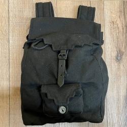 Tasche - Baumwolle - Rucksack MT - schwarz