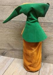Flaschen Gugel - Flaschen Harlekine - grün/ braun