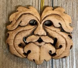 Plaque - Wandtafel - Wandschmuck - Oak King - Eichenkönig - Holzoptik