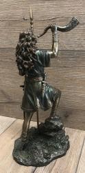 Statue - Boudicca keltische Kriegerkönigin - bronziert - Dekoration - Ritualbedarf