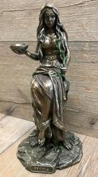 Statue - Statue - Pythia - griechische Priesterin im Orakel - Dekoration - Ritualbedarf