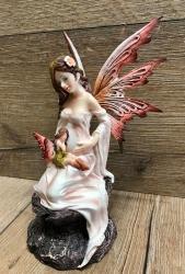 Statue - Schwangere Fee