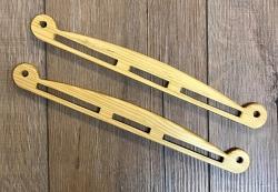 Tasche - Taschenbügel der Wikinger - groß - natur