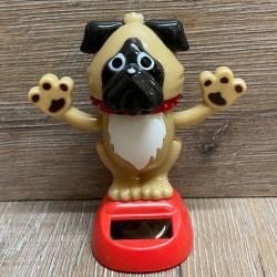 Solar Pal - Tanzender Hund/ Bulldoge