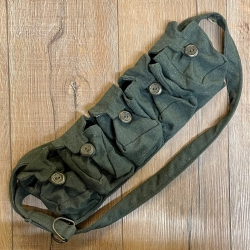 Tasche - Baumwolle - 5er Taschengürtel - grün