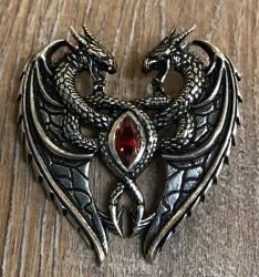 Anhänger - Drache - Dragon´s Heart - 925er Silber