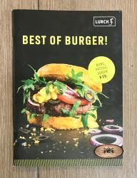 Lurch - Rezeptheft Best of Burger - 50 Seiten