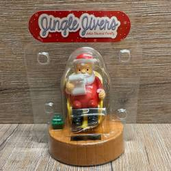 Solar Pal - Weihnachtsmann - Santa sitting in rocking chair
