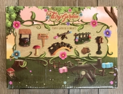 Magic Fairy Garden - Magische Waldfee - Feen Willkommen Garten Set