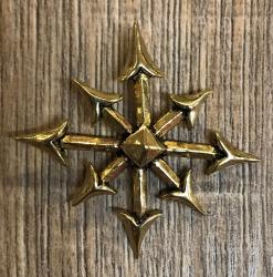 Anhänger - Chaosstern - Bronze