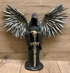 Statue - Grim Reapers - Sensenmann/ Gesichtsloser Tot - Schwertschwingen