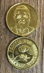 Gedenk-Münze* - Haendler Gilde - Pecunia non olet - Gold* mit Münzkapsel in Etui - limitiert