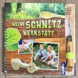 Opinel Buch meine Schnitzwerkstatt inkl. Junior Nr.7 - natur