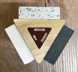 Messer Zubehör - Schleifstein - RH PREYDA - TriHone Kit inkl. Schärföl