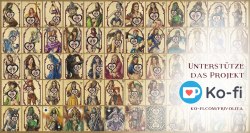 Larp Münzset* 14 - FrivoliTaler - unterstützt das Frivolita Kartenset Projekt - inkl. Baumwollbeutel