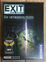 EXIT - Das Spiel - Die verlassene Hütte - Fortgeschrittene - KOSMOS Verlag