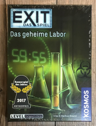 EXIT - Das Spiel - Das geheime Labor - Fortgeschritten - KOSMOS Verlag