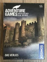 ADVENTURE GAMES - DAS VERLIES - KOSMOS Verlag - Sonderpreis - ausgepacktes Muster