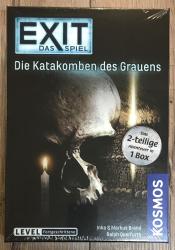 EXIT - Das Spiel - Die Katakomben des Grauens - das 2teilige Spiel in 1er Box - Fortgeschrittene - KOSMOS Verlag