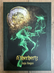 Buch - Aetherwelt 1 -  Aetherhertz - Ein Annabelle Rosenherz-Roman - Anja Bagus - Neuauflage
