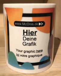 Tasse - Wunschmotiv - intone - Keramik oder Emaille
