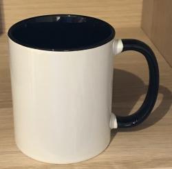 Tasse - Wunschmotiv - Keramik, Spark-Glitzer oder Emaille