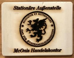 Tasse - Amt für Aetherangelegenheiten - Emaille - besonders geeignet für den Außeneinsatz!