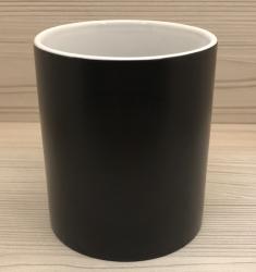 Tasse - Wunschmotiv - Wondermug Farbwechsel schwarz