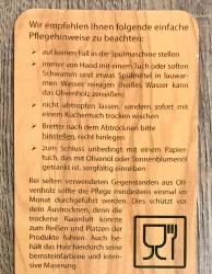 Holz Löffel - Olivenholz 12-13cm - klein - mit Band