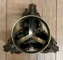 Divination - Glaskugel Ständer Dragon´s Phrophecy 18,5cm inkl. Glaskugel - bronziert