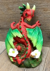Figur - Drache - Strawberry Dragon/ Erdbeer Drache by Stanley Morrison