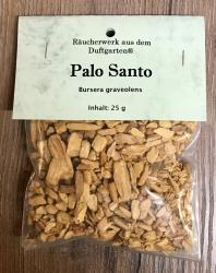 Räucherung - Reine Kräuter - Palo Santo Chips - 25g