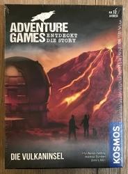 ADVENTURE GAMES - Die Vulkaninsel - KOSMOS Verlag