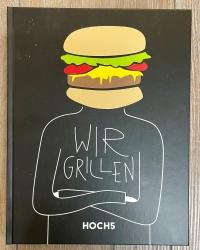 Buch - Kochbuch - WIR GRILLEN - Klaus Breinig Grillweltmeister