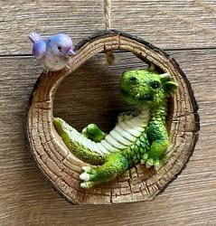 Figur - Lustige Drachen - Hänger
