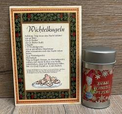 Gewürz - Süße Wichtel-Spezerei inkl. Rezept-Postkarte - ca. 80g