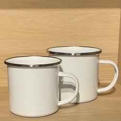 Tasse - Wunschmotiv - Emaille - verschiedene Farben & Größen